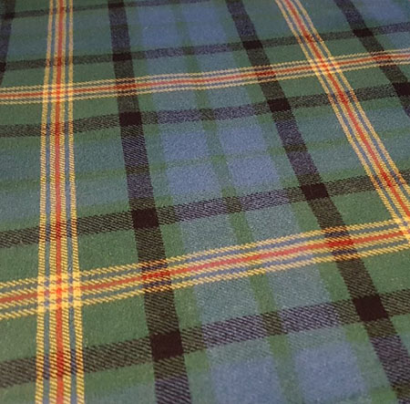 The Maitland Tartan is a modification of the known and accepted Lauder tartan