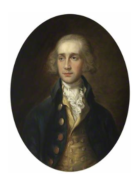 James Maitland, 8th Earl of Lauderdale (painting by Thomas Gainsborough 1727-1788)