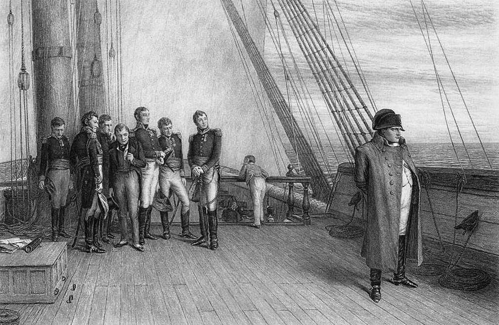 Napoleon on HMS Bellerophon