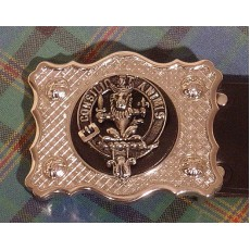 Belt Buckle with Clan Badge