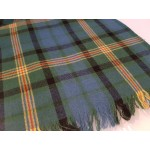 Scarf, in fluffy lambswool tartan